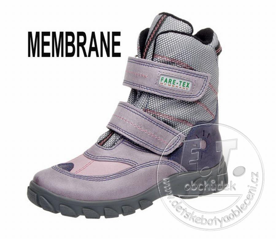 Zimní dětské boty FARE 2646191 s membránou - POŠTA ZDARMA 09308ebb74