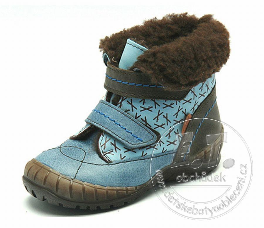 Zimní dětské boty FARE 849102 - POŠTA ZDARMA  02bc454ad1