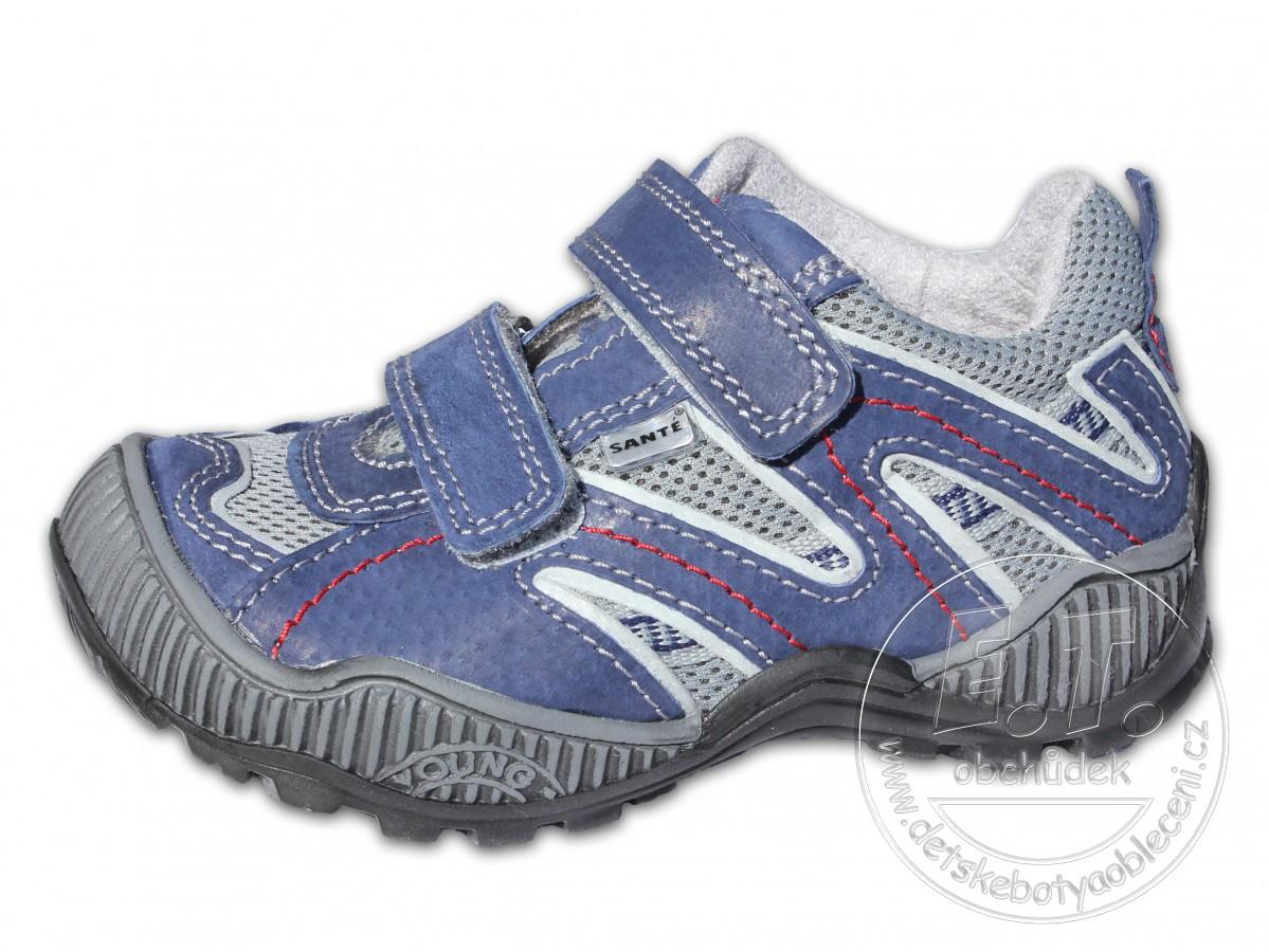 74363eef08c Celoroční dětské boty SANTÉ - model N 401 102-103 - modré ...