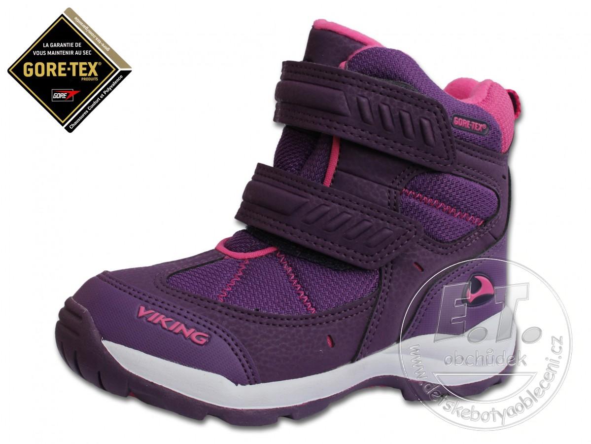 Zimní dětské boty VIKING 60073291f9