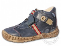fd77bf3e596 Kotníkové dětské boty PEGRES model 1403 - modré