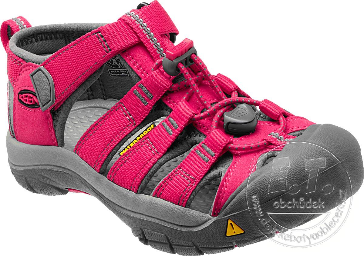 cdfab43e630 Dětské sandále Newport H2 KEEN rose red   gargoyle č.1