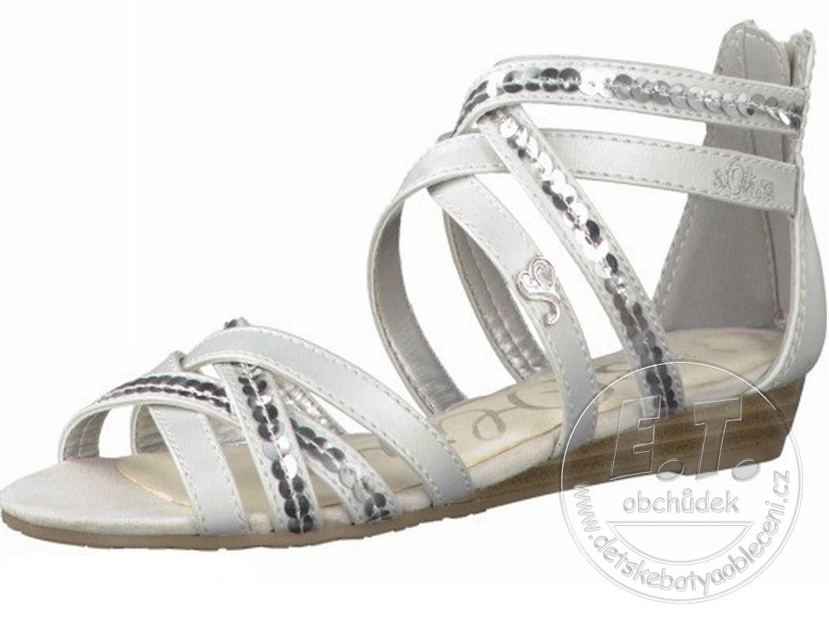 a84a3ee911c Letní pásečkové boty s.OLIVER