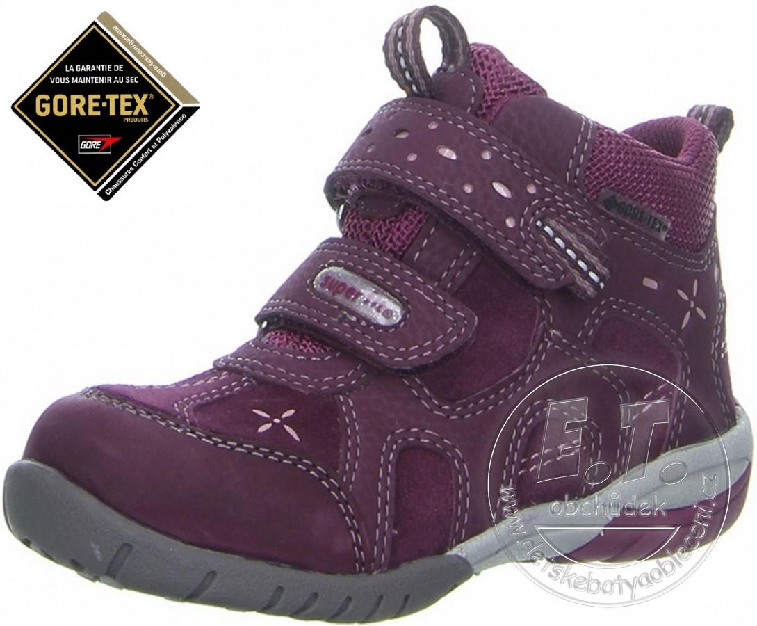 Celoroční dětské boty SUPERFIT - Gore-Tex 17a08da93d