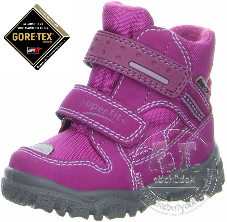 fa748bc533b Zimní dětské boty Superfit