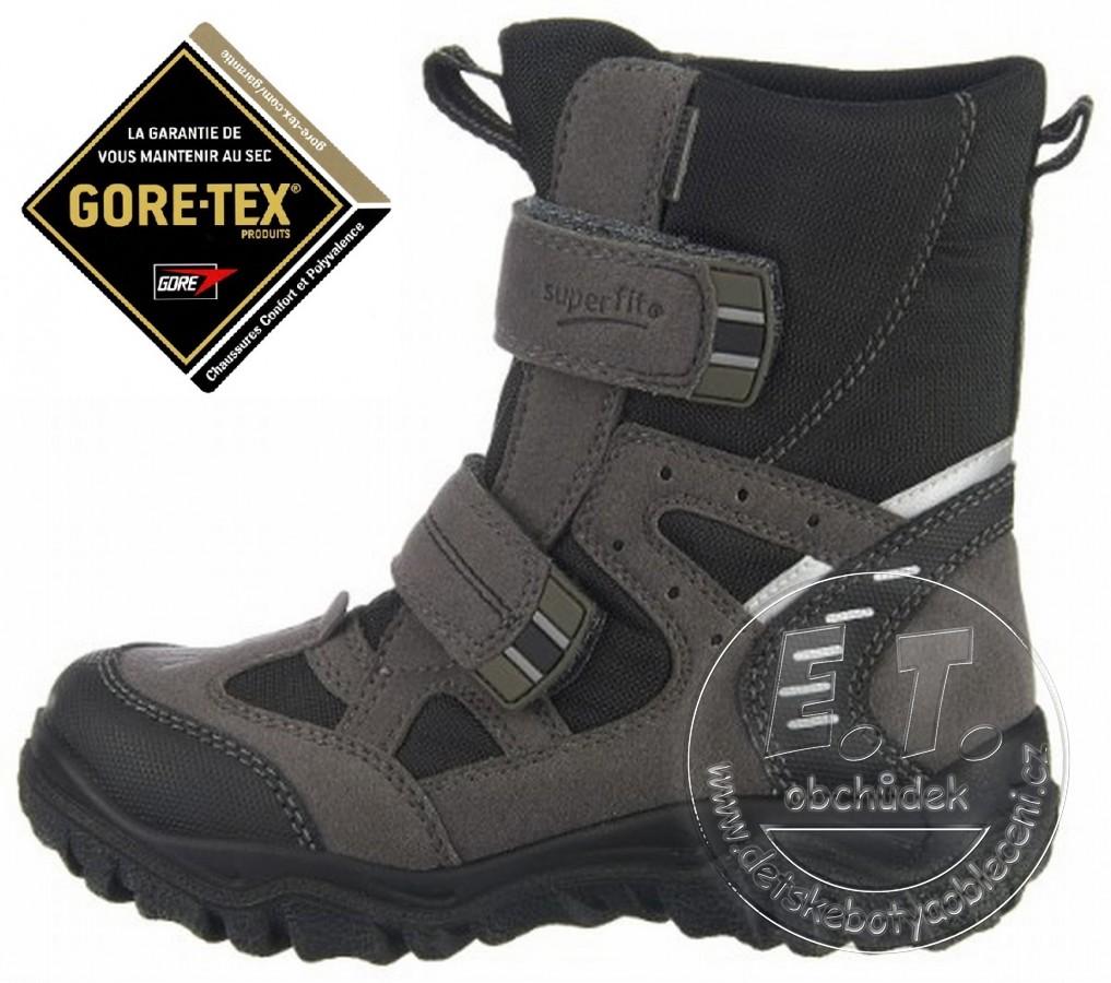 Zimní dětské boty Superfit 4cba2434f9