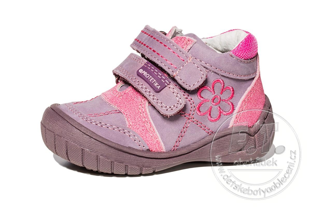 0940e2481 Celoroční dětské boty PROTETIKA, model ELA purple | Celoroční obuv ...