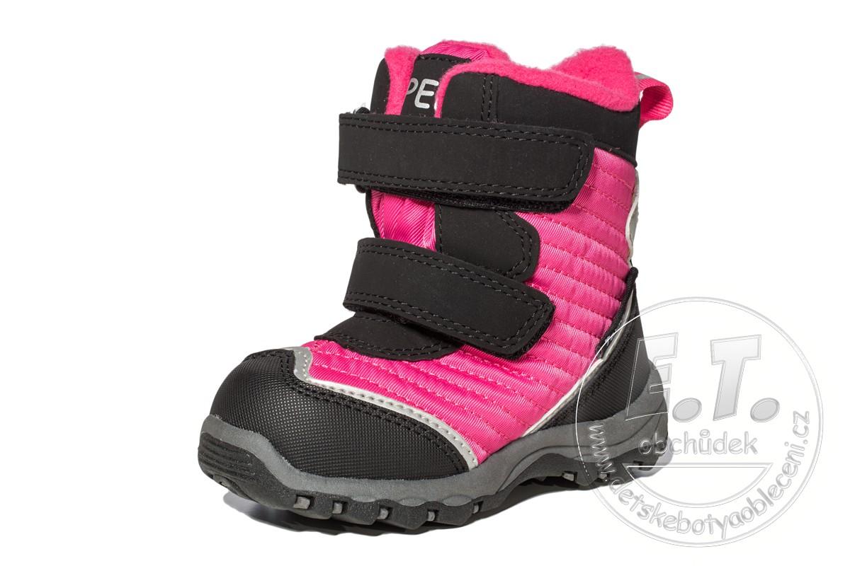 8cb0d42ab40 Zimní dětské boty PEDDY