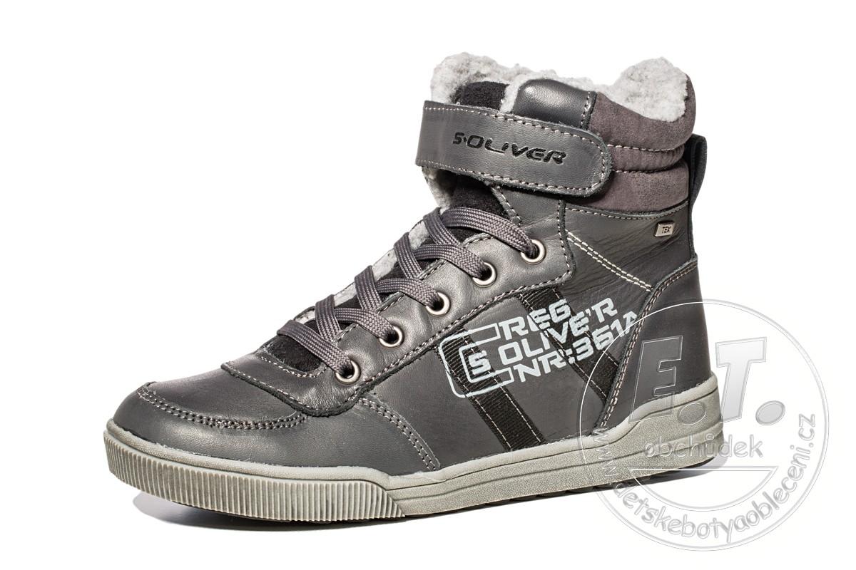 Zimní kotníkové boty s.OLIVER 643535f93e