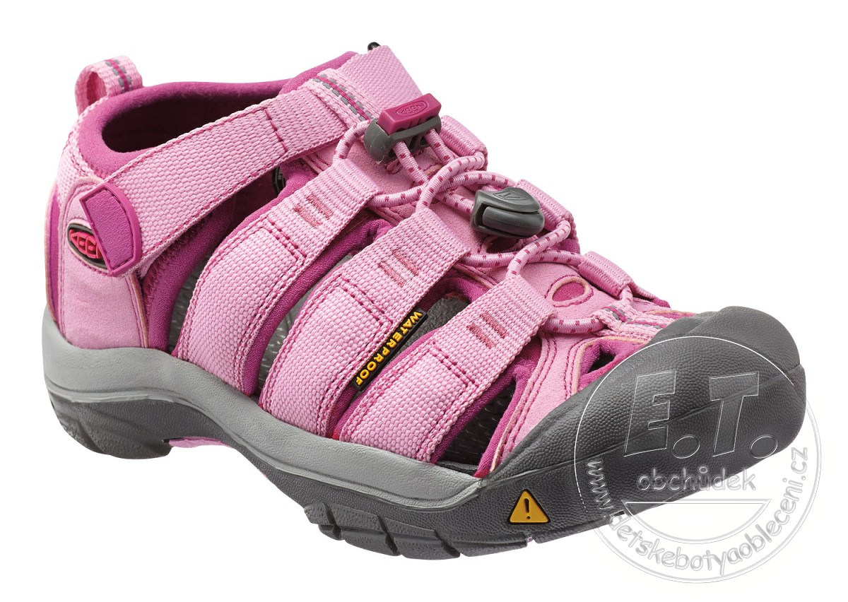 abfd233965e8 Dětské sandále Newport H2 KEEN lilac chiffon   dahlia mauve