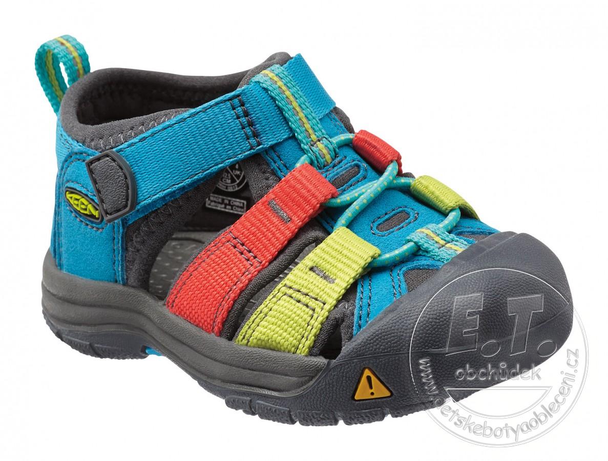 25188af80cc Dětské sandále Newport H2 KEEN hawaiian blue multi č.1