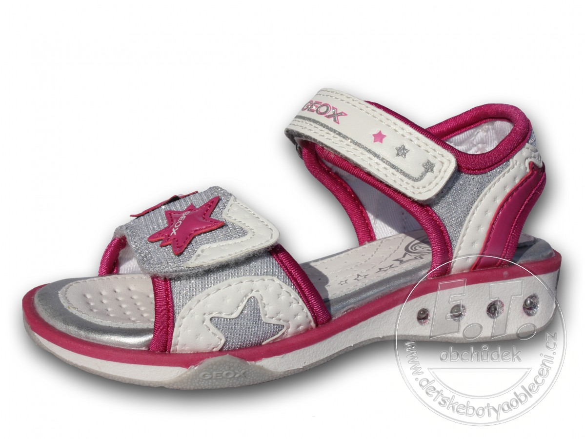 Letní blikající sandále b5f2276afc
