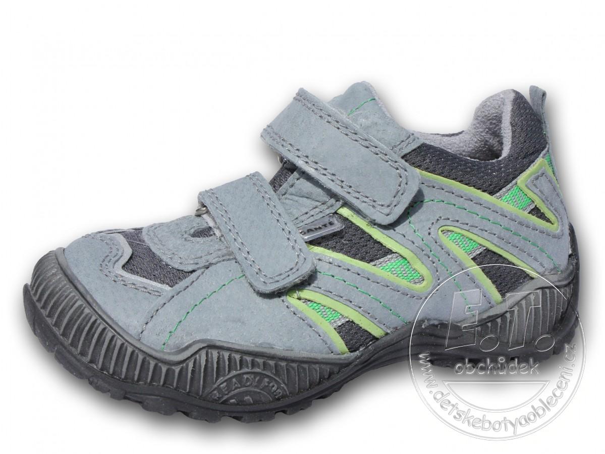 8e4cebed2b7 Celoroční dětské boty SANTÉ - model N 401 102-103-šedá+zel ...