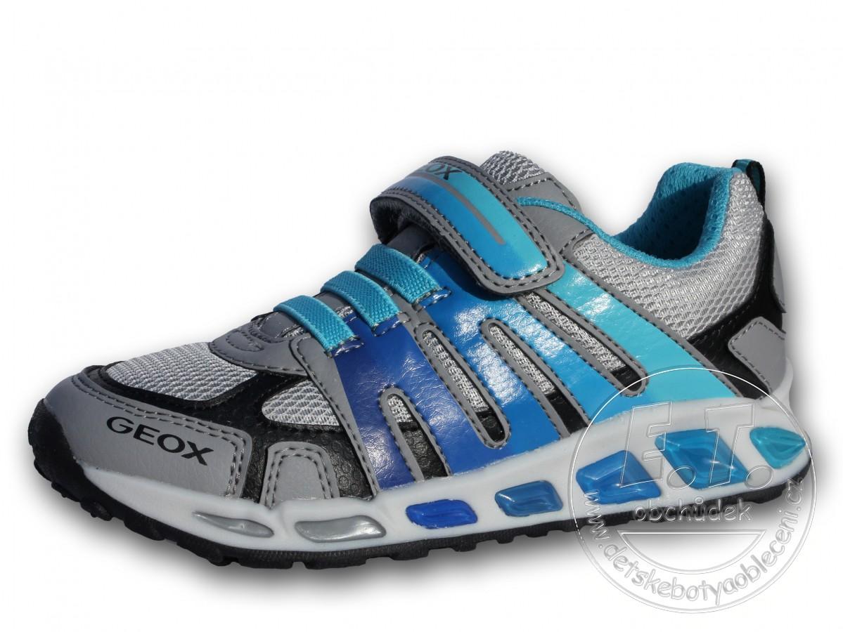 91a7e312617 Celoroční dětské boty GEOX