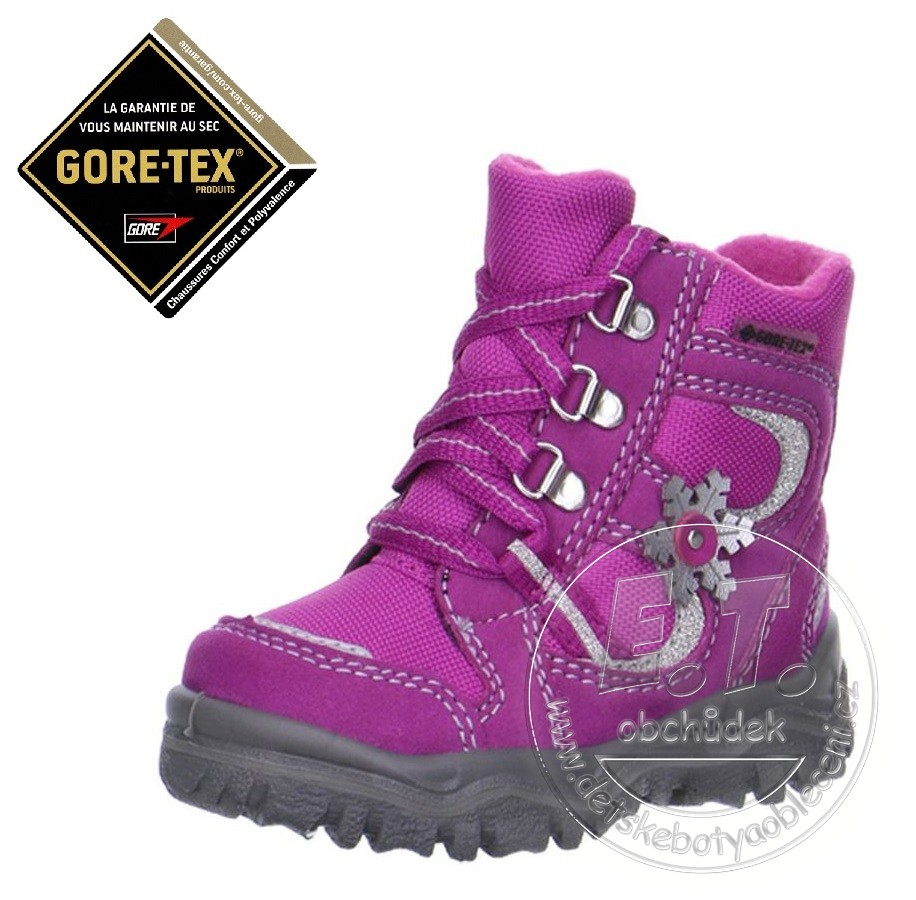 Zimní dětské boty Superfit bd2cd6b870