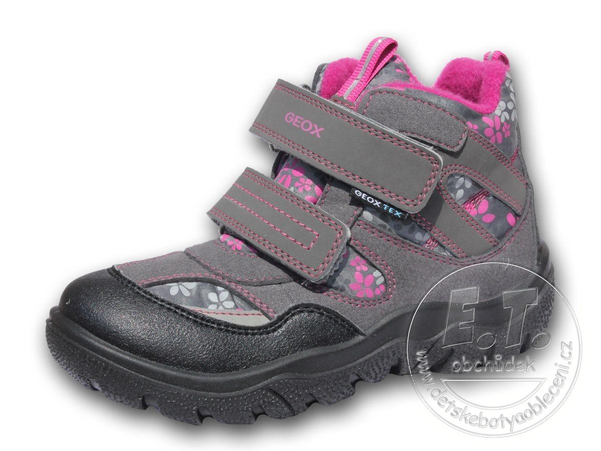 Zimní dětské boty GEOX 760d1cd7c9