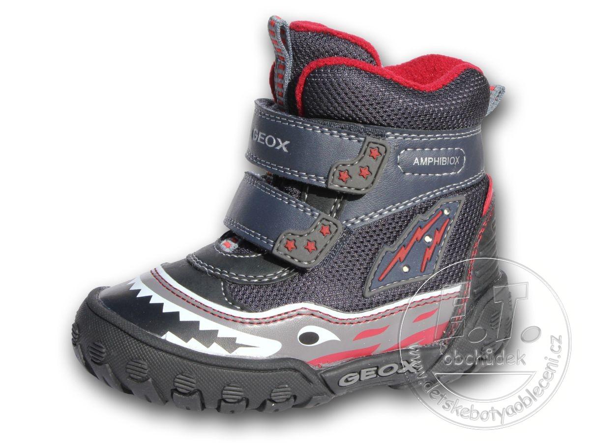Zimní dětské boty GEOX 2c95d4080d