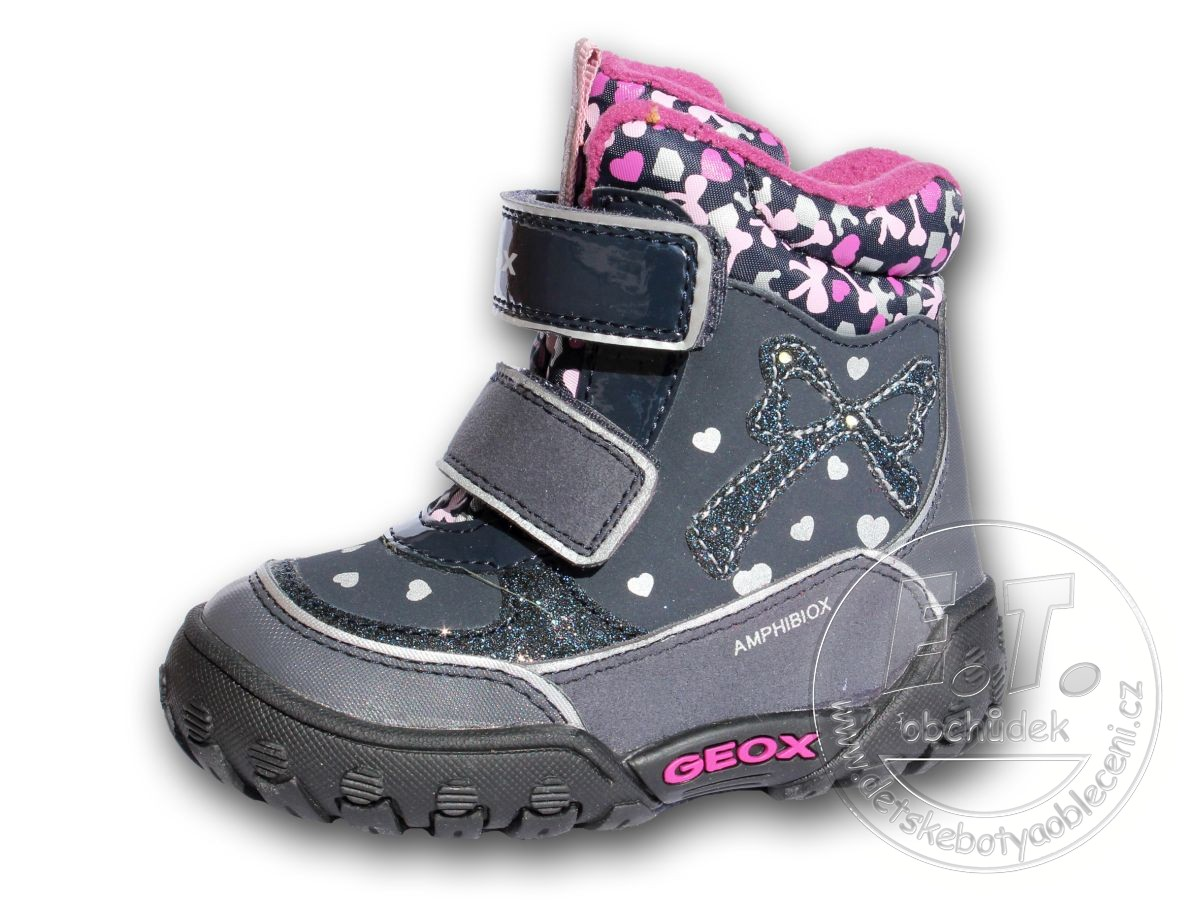 40a363b2842 Zimní dětské boty GEOX