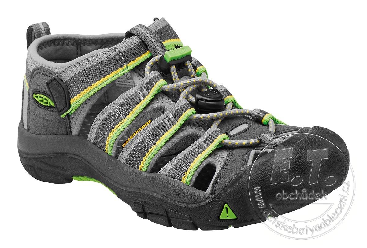 397e513458bd Dětské sandále Newport H2 KEEN racer gray