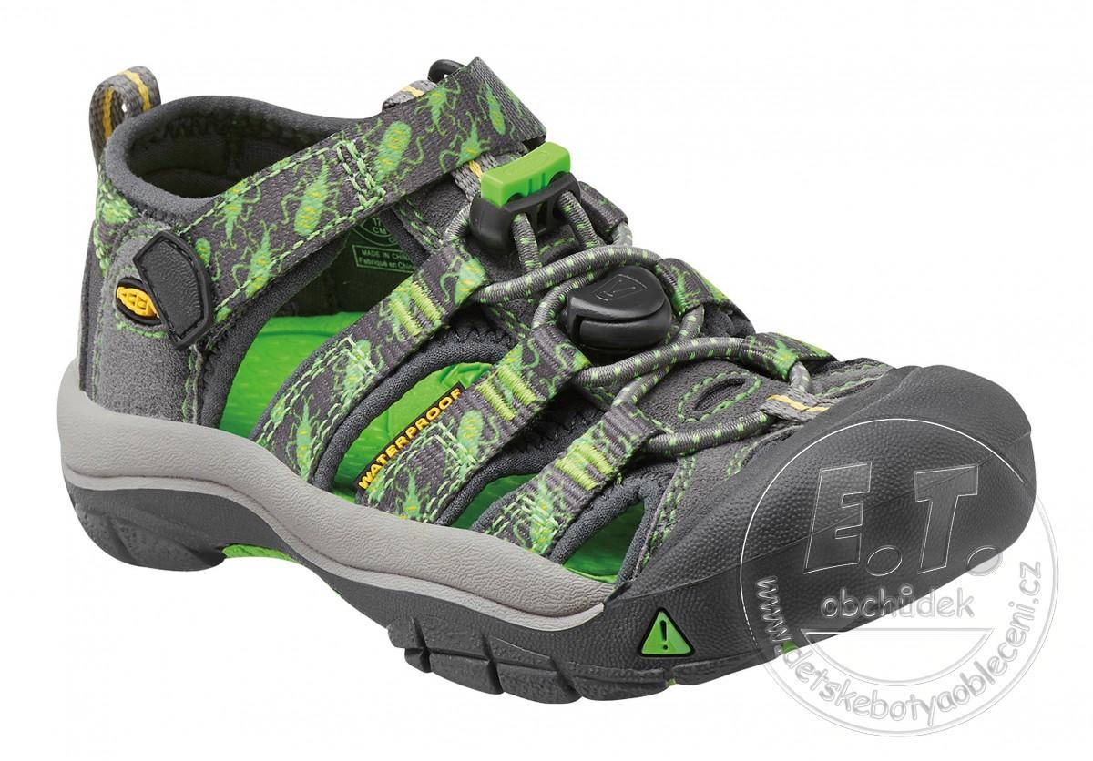 d78eb4718eb8 Dětské sandále Newport H2 KEEN gargoyle bugs