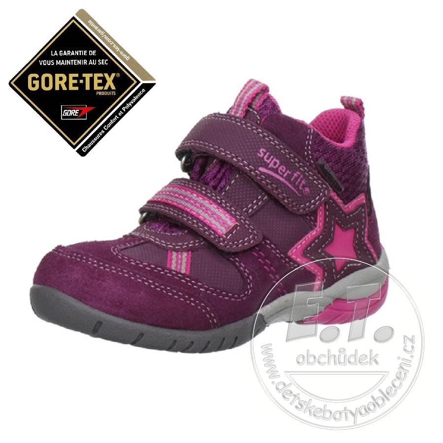 Celoroční dětské boty SUPERFIT - Gore-Tex 155b92787d