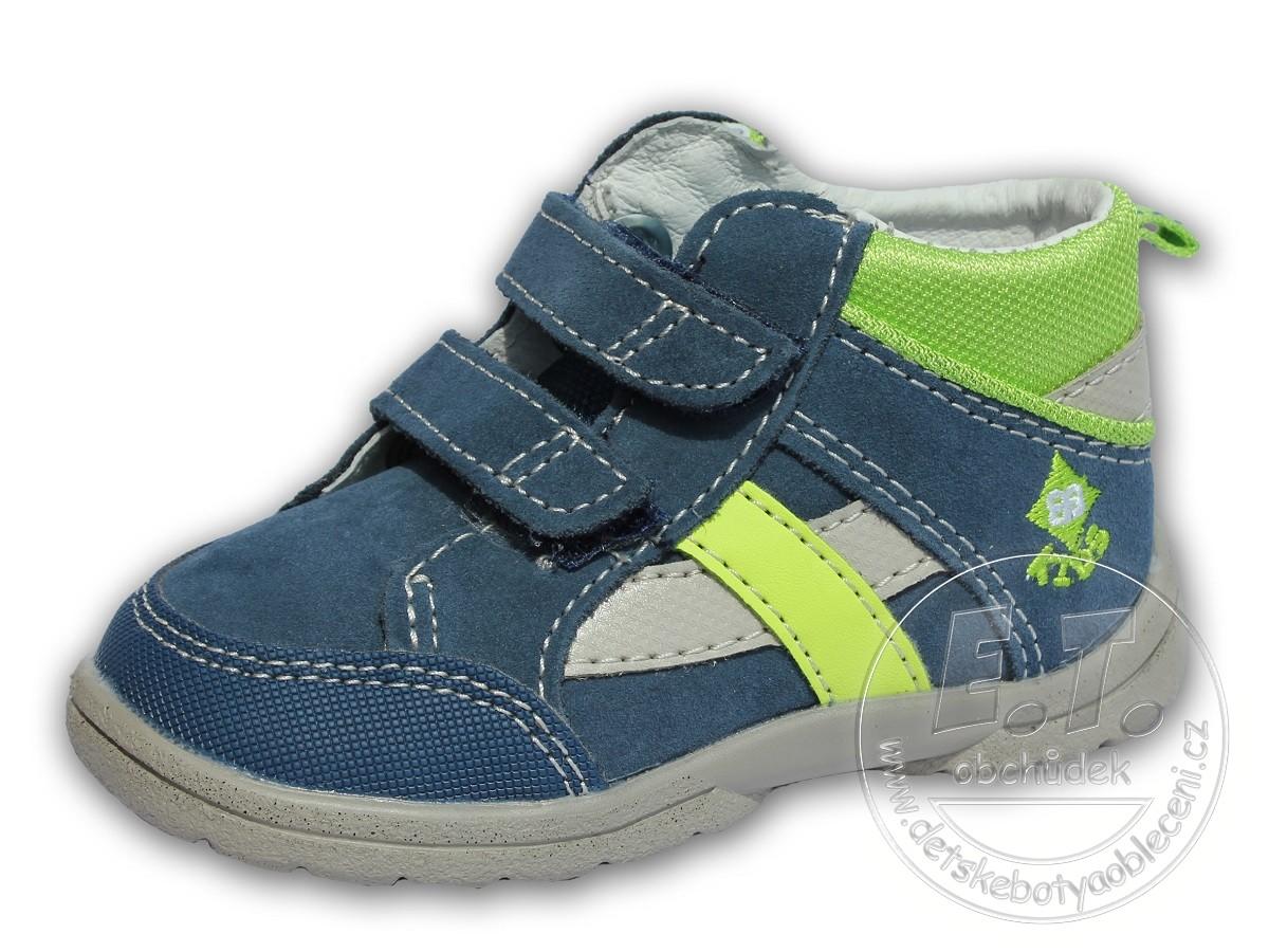 Celoroční kotníkové boty EB KIDS 8c8cc578fc7