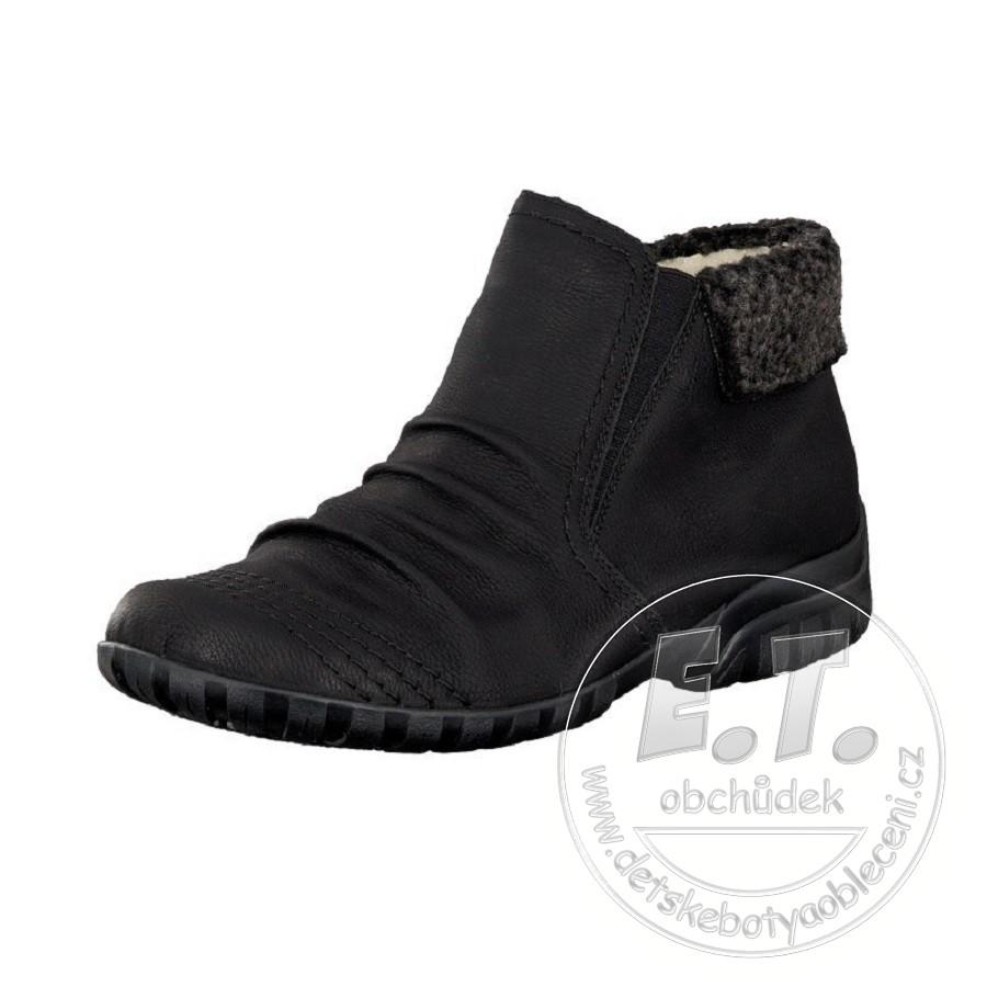 Dámské zimní kotníkové boty 65494d0485