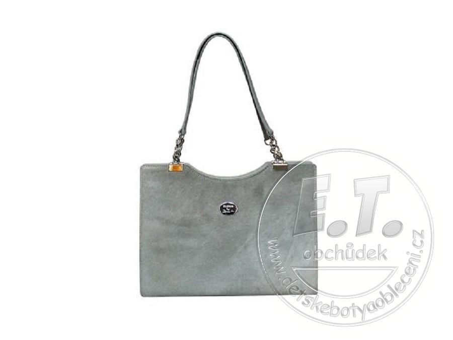 ff8f8f57a5f Dámská střední kabelka ELEGA by Dana M. kolekce FURRY šedá
