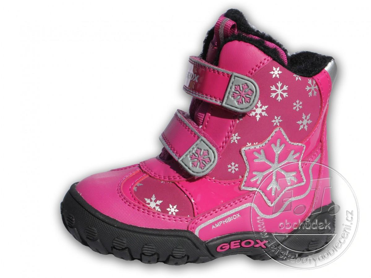e92f4ffdddf Dětské zimní boty GEOX