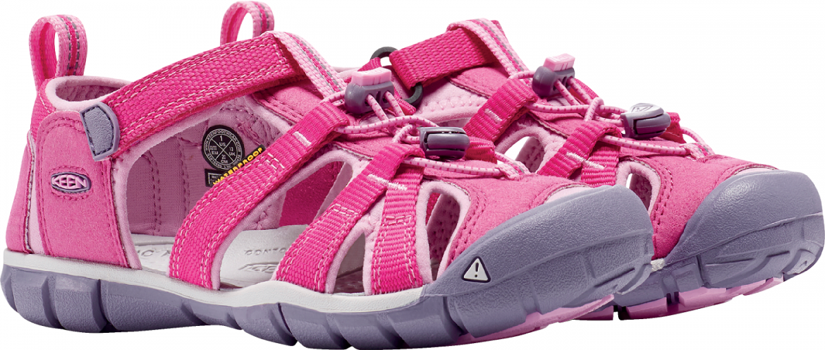 9eb3de47f0b Dětské sandále KEEN SEACAMP II CNX very berry lilac chiffon