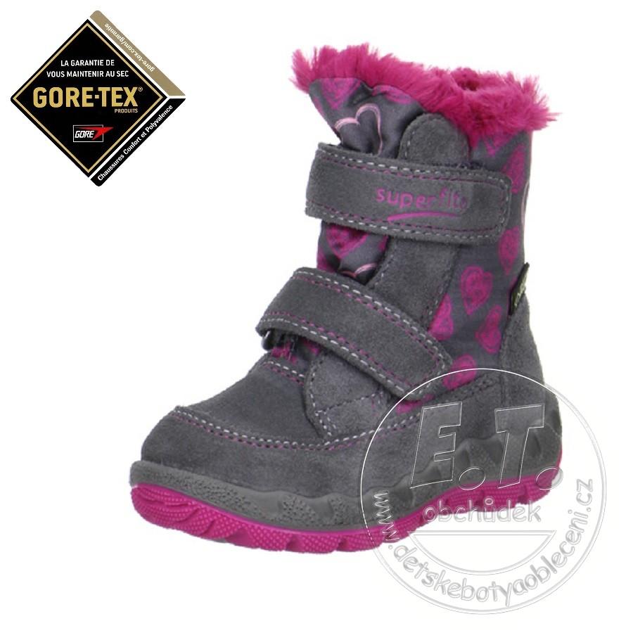Zimní dětské boty bb1cc9bafe